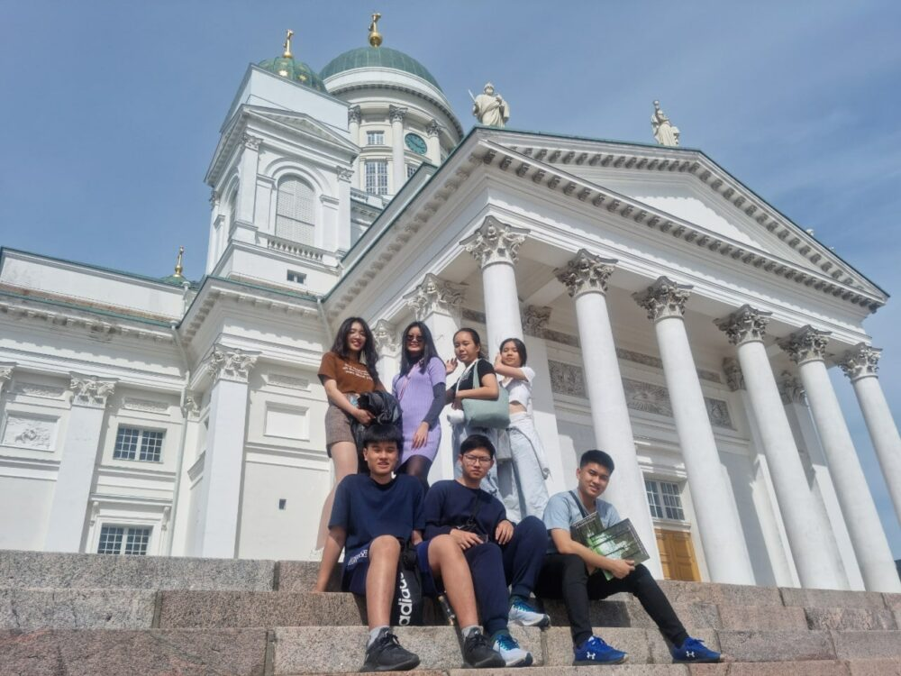 HS2021 Diary: The first Summer Camp ever in Finland!